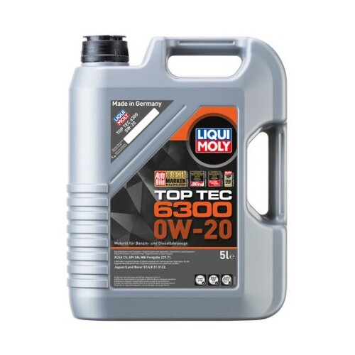 Моторное масло LIQUI MOLY Top Tec 6300 0W-20 5 л