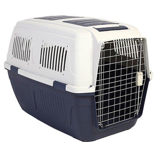 Клиппер-переноска для собак Triol Standard Large 82х57х60 см бежевый/темно-синий
