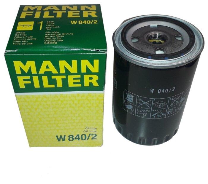 Масляный фильтр MANNFILTER W840/2