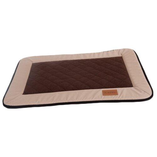 Лежак для собак Katsu Plaska L 112х83 см бежевый/коричневый