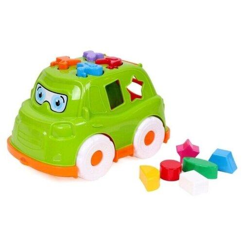 Купить Автобус-сортер Technok Toys, ц. зеленый, ТехноК, Сортеры