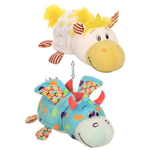 Мягкая игрушка 1 TOY Вывернушка Ням-Ням Единорог-Дракон с ароматом 35 см игрушка мягкая nattou soft toy наттоу софт той alex
