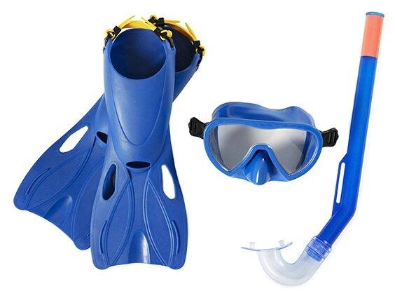 Набор для плавания с ластами Bestway Lil Flapper размер 24-27
