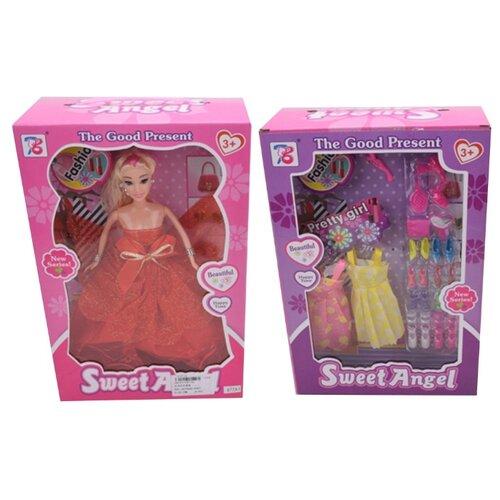 Кукла Shantou Gepai с аксессуарами, 29 см, 977A1 кукла shantou gepai с коляской cs5832ha