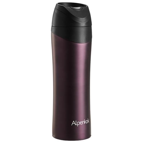 Термокружка Alpenkok AK-04802A, 0.48 л фиолетовый
