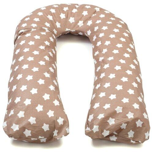 Купить Подушка Sonvol для беременных U 340 трансформер белые звезды, Подушки и кресла для мам