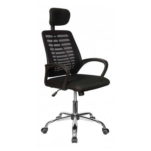 Компьютерное кресло College CLG-422 MXH-A офисное, обивка: текстиль, цвет: черный компьютерное кресло college clg 619 mxh b офисное обивка текстиль цвет бежевый