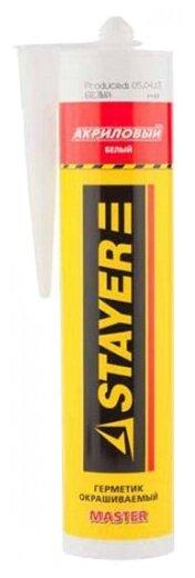 Герметик STAYER Master акриловый 260 мл.