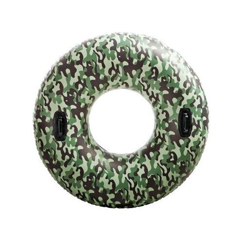 Круг Intex Хаки 119x119 см зелeный