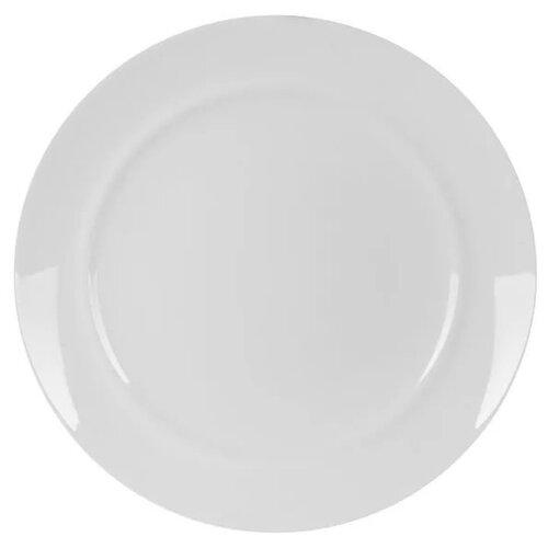 тарелка обеденная luminarc maritsa purple 26 см Luminarc Тарелка обеденная Alexie 25 см белый