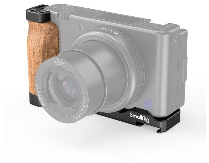 SmallRig 2936 Угловая площадка L-Shape Wooden Grip для цифровой камеры Sony ZV1