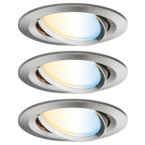 Встраиваемые светильники EBL Nova Plus ZB Coin tw 3x7W Es gb 92962