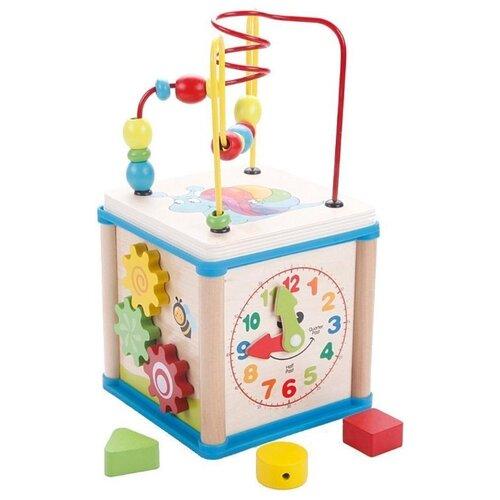 развивающая игрушка mapacha лабиринт сортер большой 76675 Развивающая игрушка Mapacha Суперкуб разноцветный