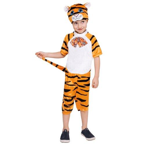 Купить Костюм пуговка Тигренок Тимон (961 к-21), оранжевый, размер 104, Карнавальные костюмы