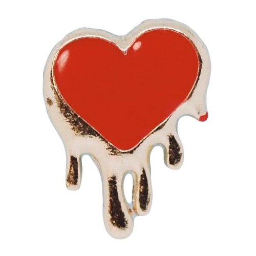 OTOKODESIGN Значок Красное сердце 52356 головоломка сердце красное 90012