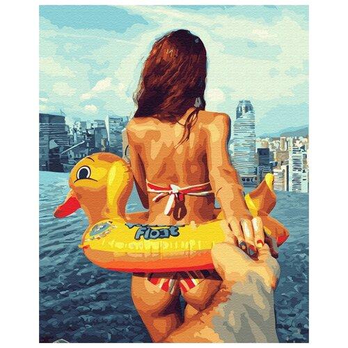 Купить Картина по номерам ВанГогВоМне ZX 23353 Следуй за мной. Море 40х50 см, Картины по номерам и контурам