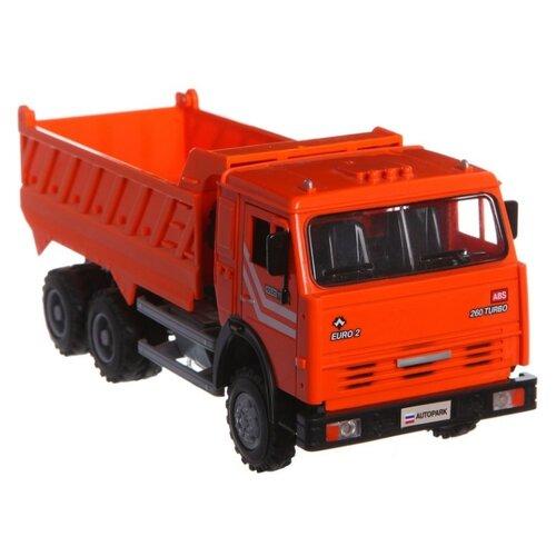 Грузовик Play Smart Автопарк 6520 (9099A/B/C/D) 1:16 24 см оранжевый грузовик play smart автопарк урал аварийная служба 9464a 25 см оранжевый