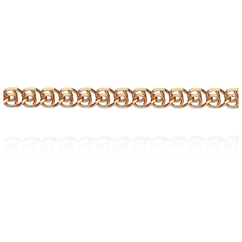 АДАМАС Цепь из золота плетения LOVE ЦЛ150А2-А51, 55 см, 7.96 г
