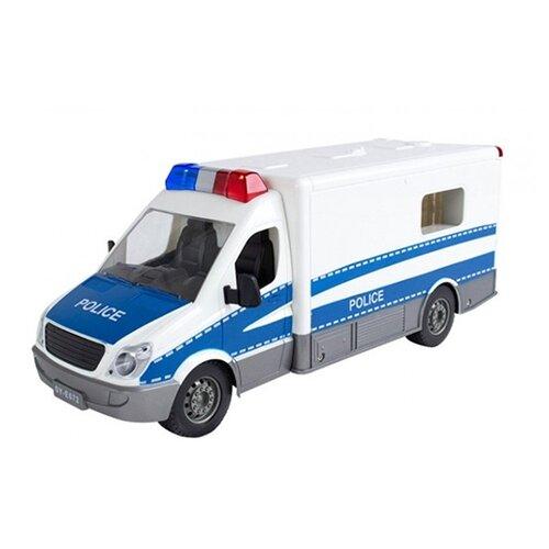 Фургон Double Eagle E672-003 1:18 33 см белый/голубой