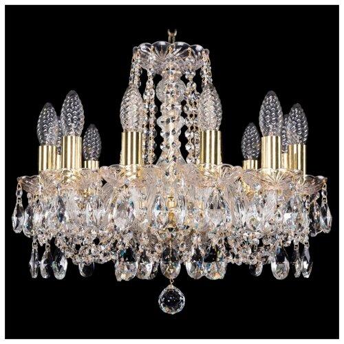 Люстра Bohemia Ivele Crystal 1402/12/141/G, E14, 480 Вт bohemia ivele crystal 1402 5 141 g tube