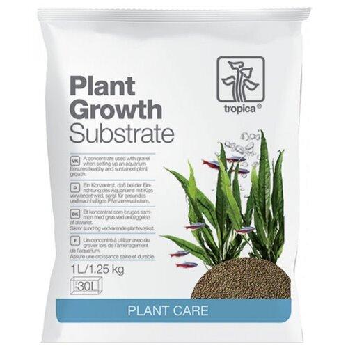 Грунт Tropica Substrate 1 л, 1.25 кг коричневый