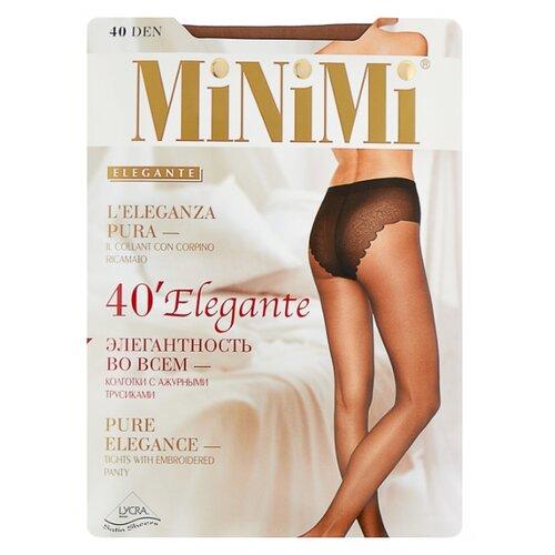 Колготки MiNiMi Elegante 40 den, размер 3-M, daino (бежевый) колготки minimi elegante 40 den размер 4 l daino бежевый