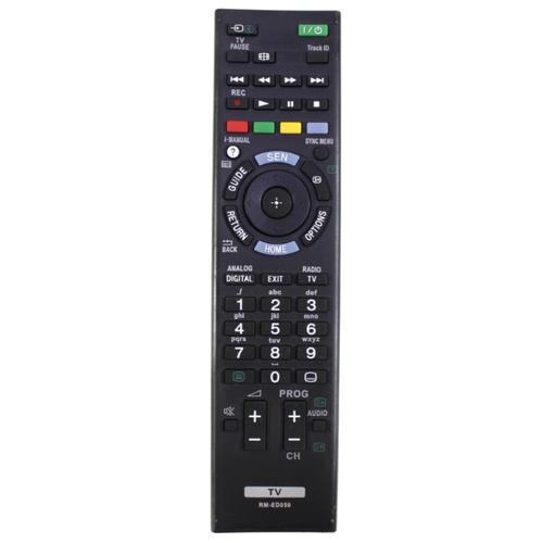 Пульт ДУ Huayu RM-ED050 для телевизоров Sony KDL-26EX55x/KDL-40HX75x/KDL-46HX75x/KDL-32EX65x/KDL-32EX653/KDL-26EX553 черный