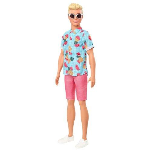 Купить Кукла Barbie Игра с модой Кен Гавайи, 29 см, GHW68, Куклы и пупсы