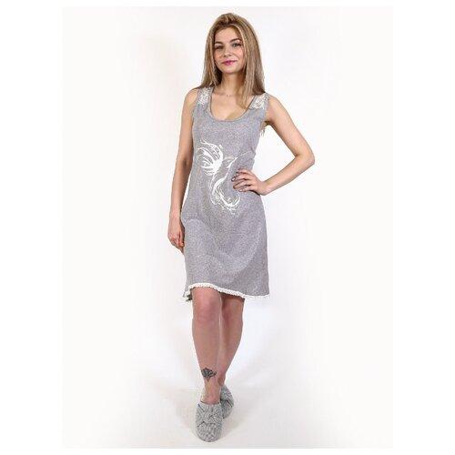 Платье RICH LINE размер 48 серый