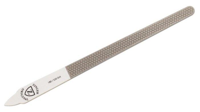 ZINGER Пилка для ногтей лазерная Diamond 180/320 грит