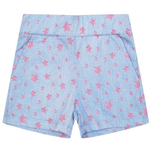 Купить Шорты Leader Kids Моя принцесса ЛКЛ20222113 размер 86, голубой, Брюки и шорты