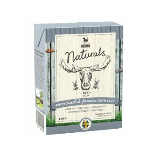 Влажный корм для собак Bozita Naturals беззерновой, лось 370г