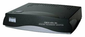 Cisco ATA186 аналоговый телефонный адаптер