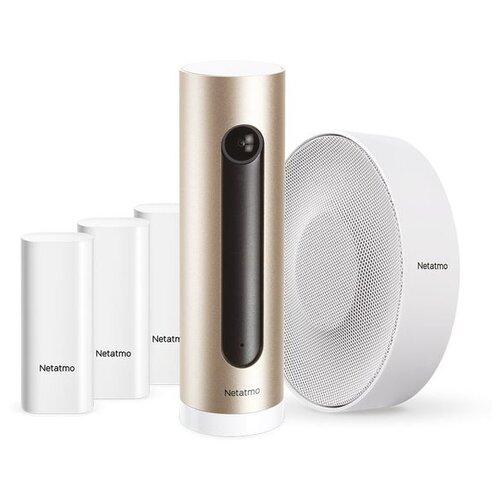 Комплект умного дома Netatmo Smart Alarm System with Camera