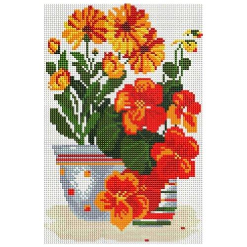 Купить Белоснежка Набор алмазной вышивки Солнечные цветы (315-ST-S) 20x30 см, Алмазная вышивка