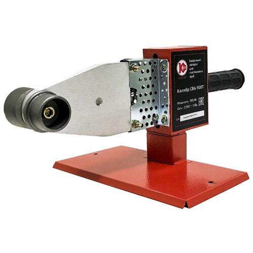 Аппарат для раструбной сварки КАЛИБР СВА-900Т аппарат для сварки пластиковых труб калибр сва 780т промо