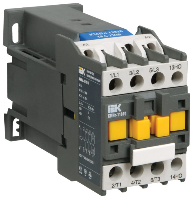 Вспомогательный контактор/реле IEK KMD21-025-220-10