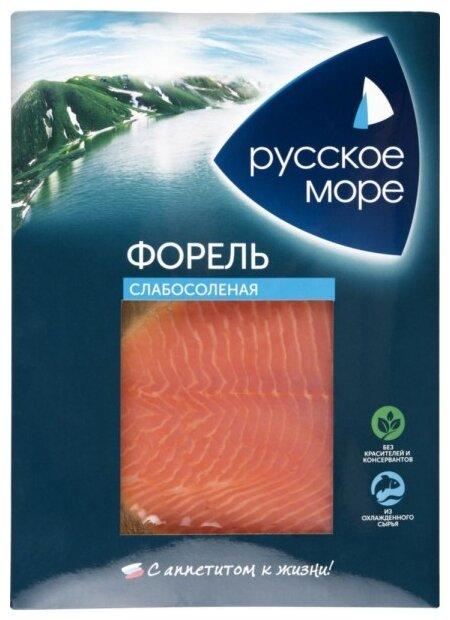 Форель филе-ломтики с/с русское море, 120 г