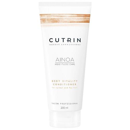 Cutrin кондиционер для волос AINOA Body Vitality для укрепления, 200 мл cutrin кондиционер ainoa body vitality 200 мл