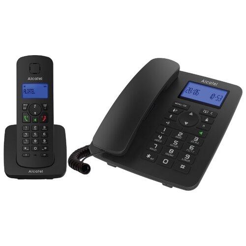 Радиотелефон Alcatel M350 Combo черный