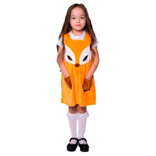 Купить Платье Бока Лисичка-сестричка, оранжевый, размер 104-116, Карнавальные костюмы