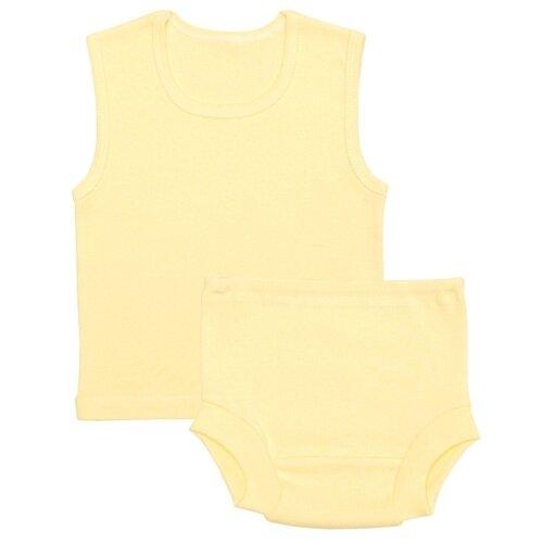 Купить Комплект нижнего белья Чудесные одежки размер 74, желтый, Белье