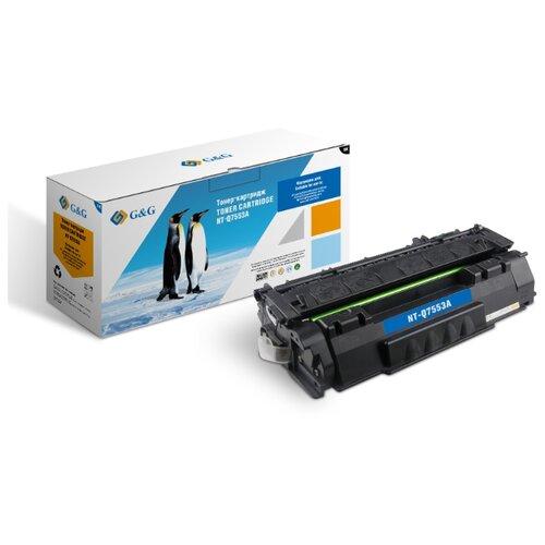 Фото - Картридж лазерный G&G NT-Q7553A черный (3000стр.) для HP LJ P2010/P2014/P2015/M2727nf MFP/M2727nfs M картридж nv print q7553a для hp laserjet p2014 p2015 m2727mfp черный 3000стр