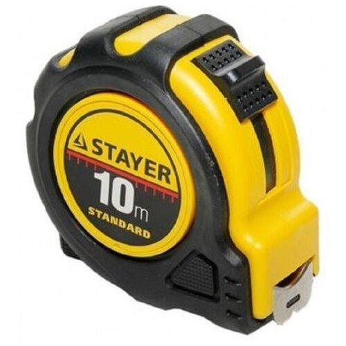 цена на Измерительная рулетка STAYER 34025-10 25 мм x 10 м