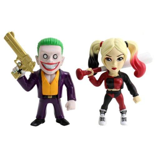 Купить Набор коллекционных металлических фигурок DC Comics: Джокер и Харли Квинн – Отряд Самоубийц – Suicide Squad Joker Boss и Harley Quinn (10 см), Jada Toys, Игровые наборы и фигурки