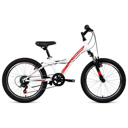 Подростковый горный (MTB) велосипед FORWARD Dakota 20 2.0 (2019) белый 10.5 (требует финальной сборки) велосипед forward comanche 2 0 2016