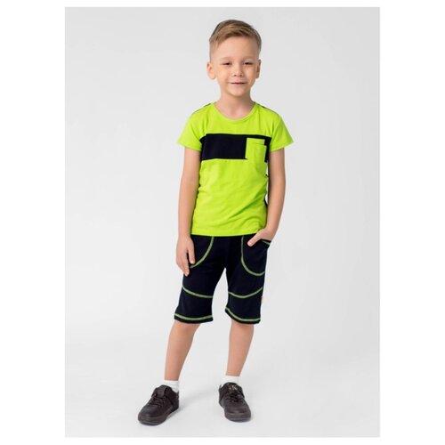 Комплект одежды looklie размер 98-104, салатовый/черный комплект одежды looklie размер 98 104 изумрудный
