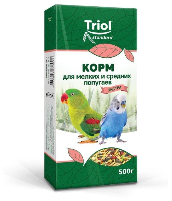 Корм TRIOL для мелких и средних попугаев Триолл- Криспи-Экстра
