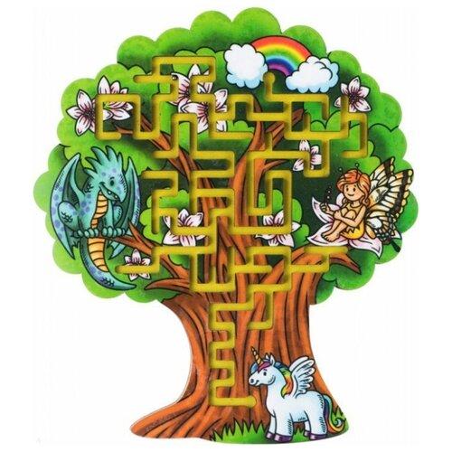 Купить Головоломка Большой слон Лабиринт Дерево (0050), Головоломки