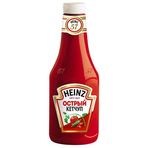 Фото - Кетчуп Heinz Острый, пластиковая бутылка 1000 г кетчуп острый слобода живая еда 350 г